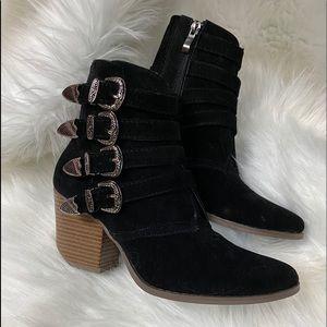 Beast Fashion Black Booties